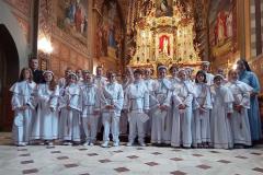 2021.06.23 Pielgrzymka dziękczynna po uroczystości Pierwszej Komunii Świętej