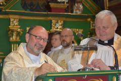 2021.07.04 Kanoniczne objęcie parafii przez księdza Proboszcza Jacka Budzonia